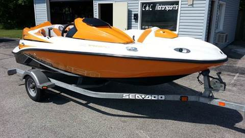 2012 SEADOO SPEESTER 150 // SUPERCHARGED 215 HP //  44 HRS  // LOADED