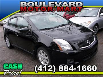 2011 Nissan Sentra for sale in Pittsburgh, PA