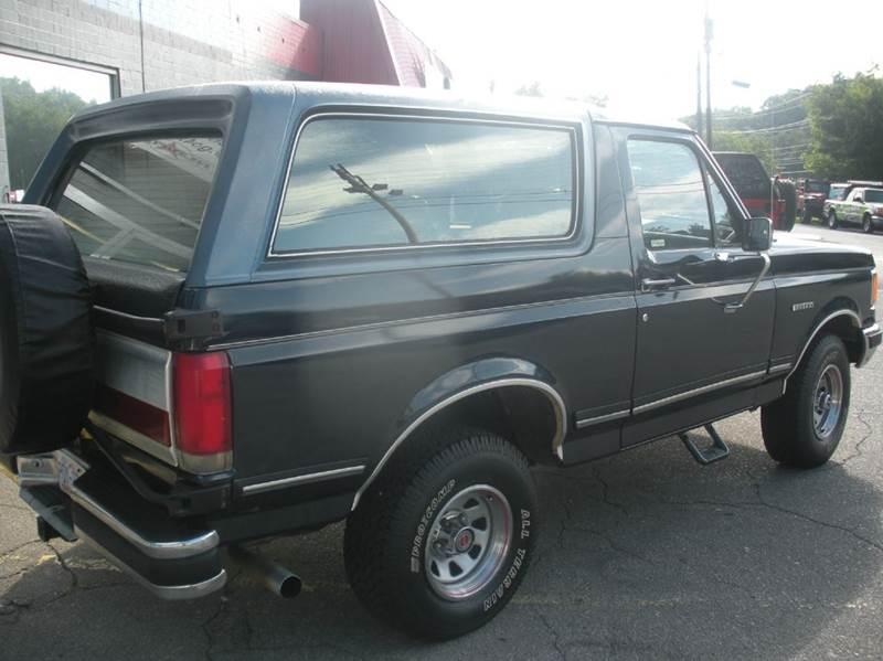 1990 Ford Bronco 2dr XLT 4WD SUV - Boone NC