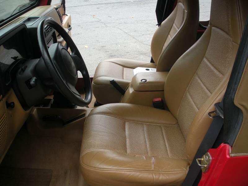 1997 Jeep Wrangler 2dr SE 4WD SUV - Boone NC