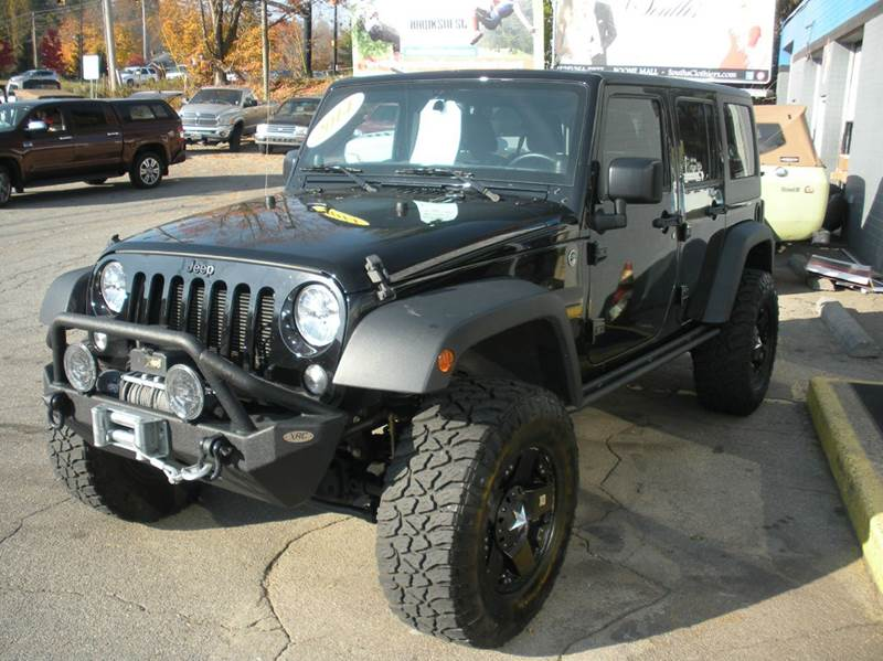 2014 Jeep Wrangler Unlimited 4x4 Sport 4dr SUV - Boone NC