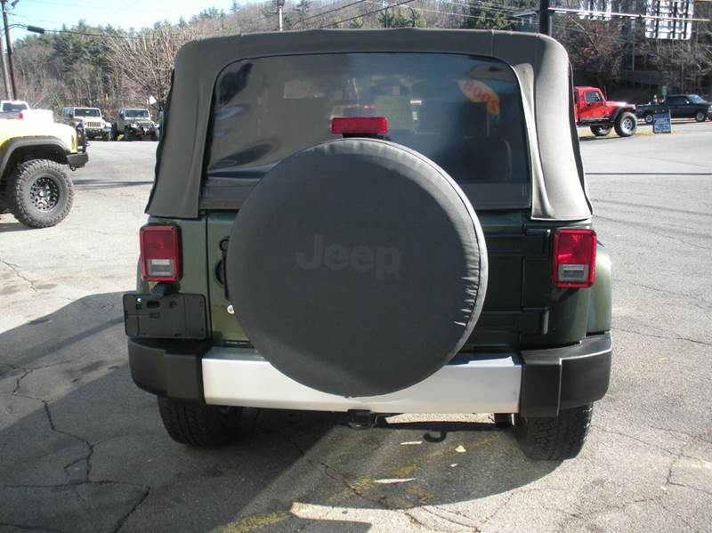 2008 Jeep Wrangler 4x4 Sahara 2dr SUV - Boone NC