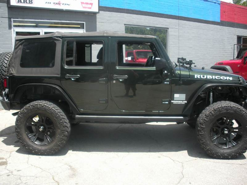 2011 Jeep Wrangler Unlimited 4x4 Rubicon 4dr SUV - Boone NC