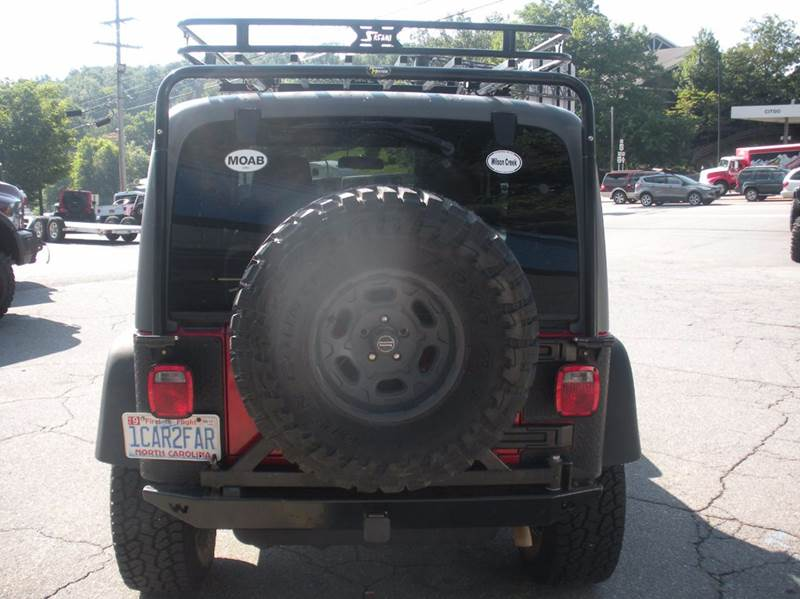 2005 Jeep Wrangler Sport 4WD 2dr SUV - Boone NC