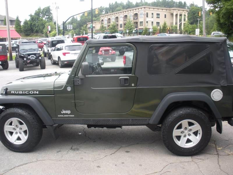 2006 Jeep Wrangler Unlimited Rubicon 2dr SUV 4WD - Boone NC