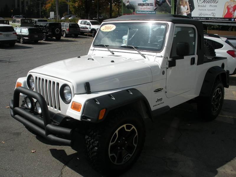 2004 Jeep Wrangler Unlimited  - Boone NC