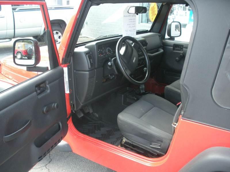2006 Jeep Wrangler SE 2dr SUV 4WD - Boone NC