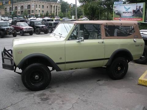 1976 Iternational Scout II