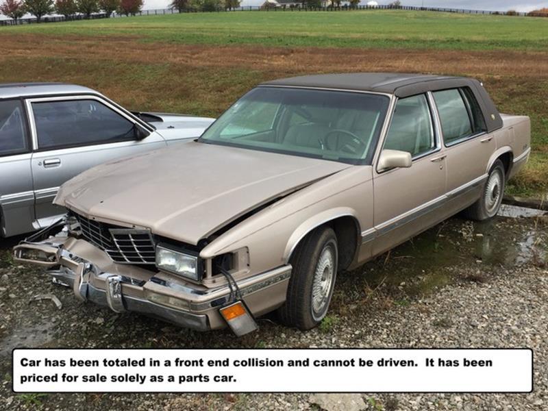 1993 Cadillac Deville For Sale Carsforsale