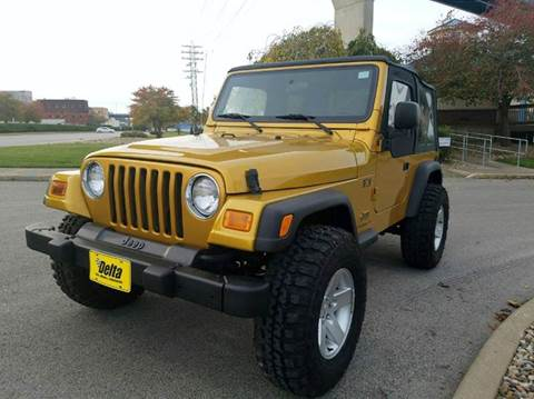 2003 jeep wrangler for sale michigan. Black Bedroom Furniture Sets. Home Design Ideas