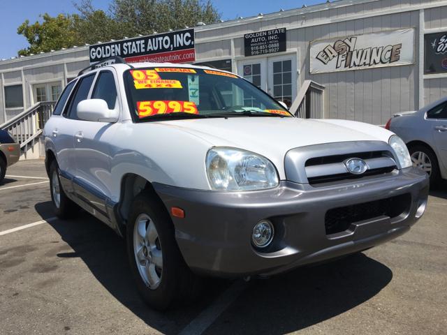 2005 Hyundai Santa Fe Awd Gls 4dr Suv In Rancho Cordova Ca