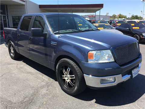 2005 Ford F-150 ... & Ford Used Cars financing For Sale Rancho Cordova Golden State Auto ... markmcfarlin.com