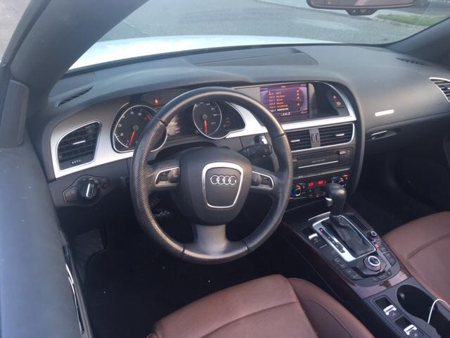 2012 Audi A5 AWD 2.0T quattro Premium Plus 2dr Convertible - West Islip NY