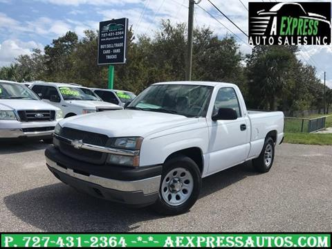2005 Chevrolet Silverado 1500 for sale in Tarpon Springs, FL