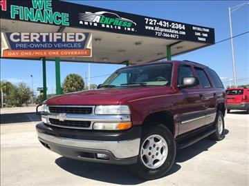 2004 Chevrolet Tahoe for sale in Tarpon Springs, FL