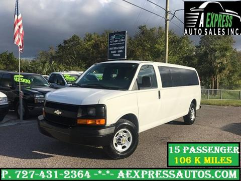 2009 Chevrolet Express Passenger for sale in Tarpon Springs, FL