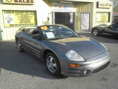 2003 Mitsubishi Eclipse Spyder for sale in Shelbyville, TN