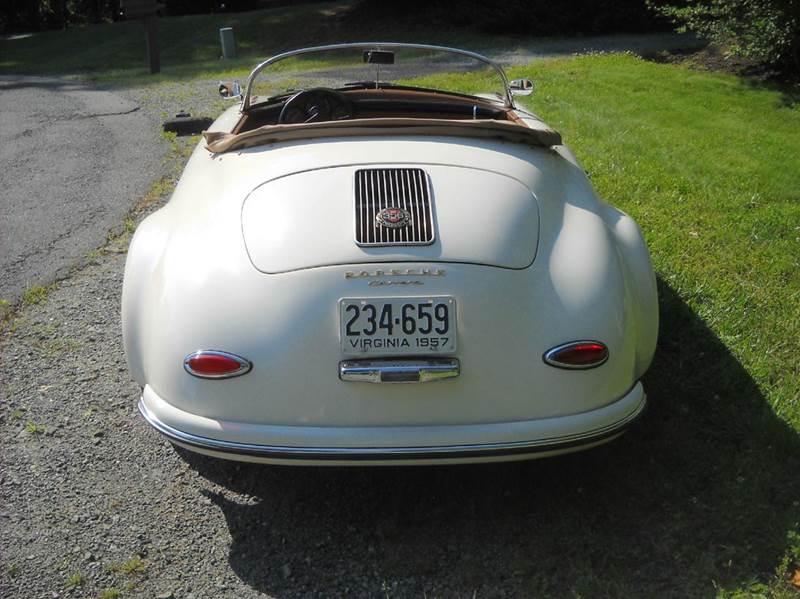 1957 porsche replica 356 in charlottesville va cville classic cars inc. Black Bedroom Furniture Sets. Home Design Ideas