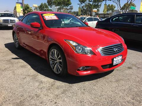 2011 Infiniti G37 Convertible for sale in Lawndale, CA