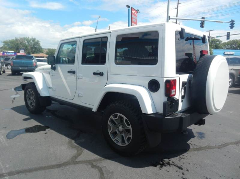 2013 Jeep Wrangler Unlimited 4x4 Rubicon 4dr SUV - Billings MT