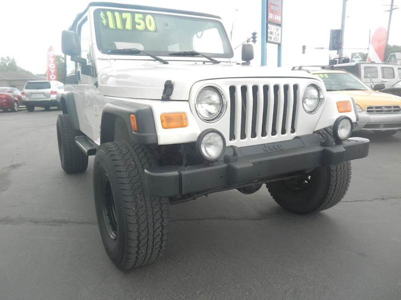 2004 Jeep Wrangler Unlimited 4WD 2dr SUV - Billings MT