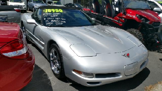 2000 Chevrolet Corvette 2dr Convertible - Billings MT