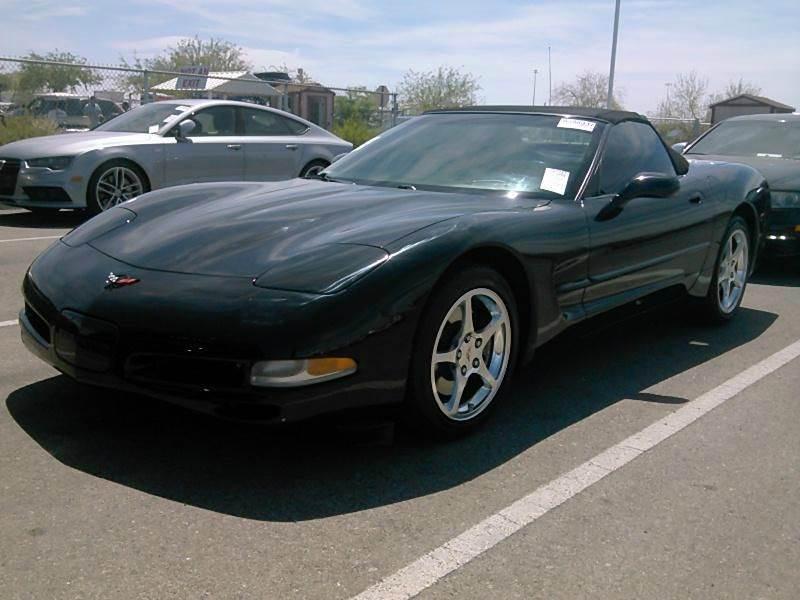 2002 Chevrolet Corvette 2dr Convertible - Billings MT