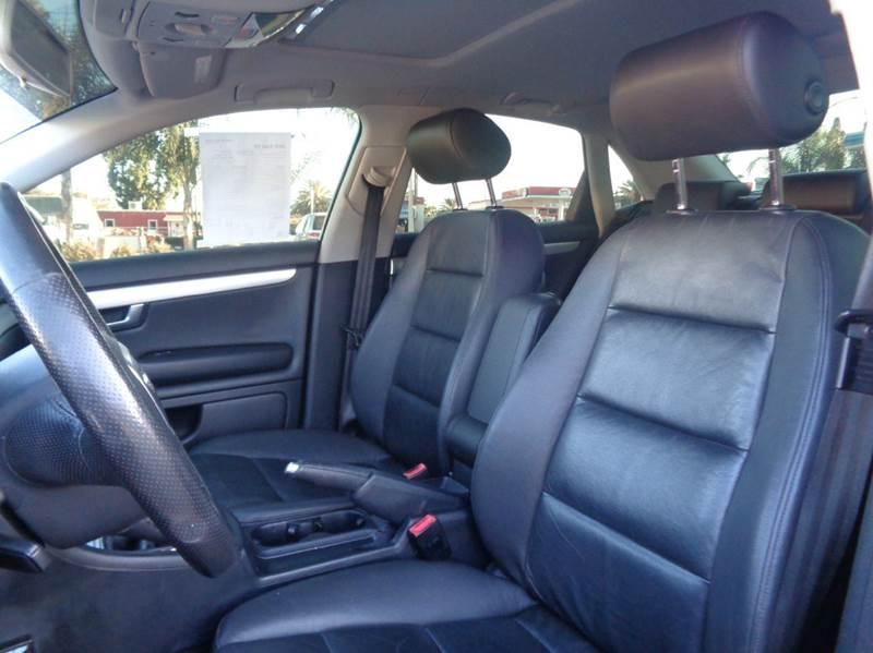 2006 Audi A4 2.0T 4dr Sedan w/Manual - Spring Valley CA