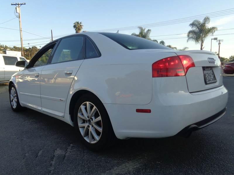 2008 Audi A4 2.0T 4dr Sedan (2L I4 CVT) - Spring Valley CA
