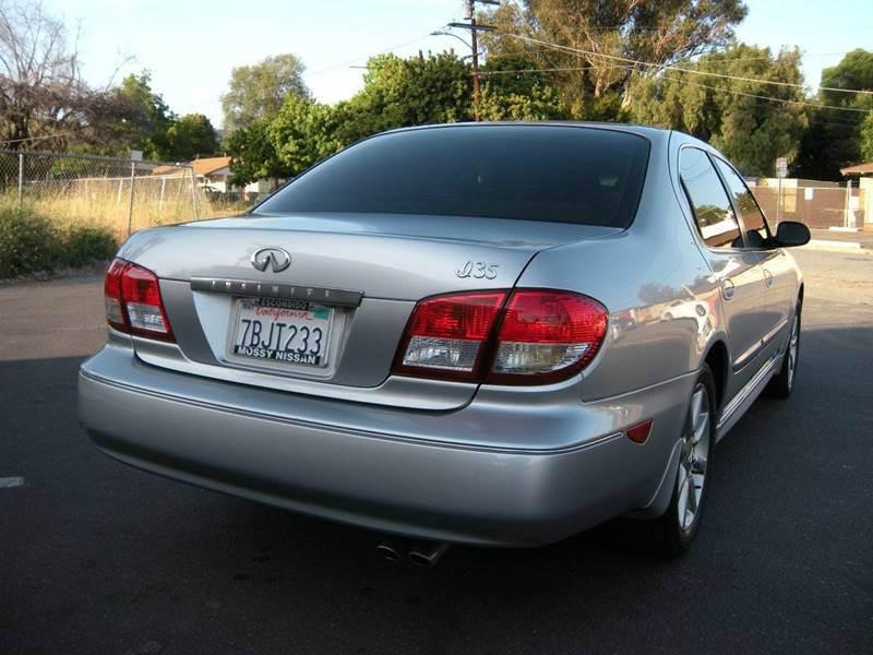 2002 Infiniti I35 Base 4dr Sedan - Spring Valley CA