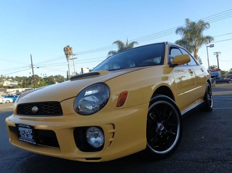 2003 Subaru Impreza AWD 4dr WRX Turbo Sedan - Spring Valley CA