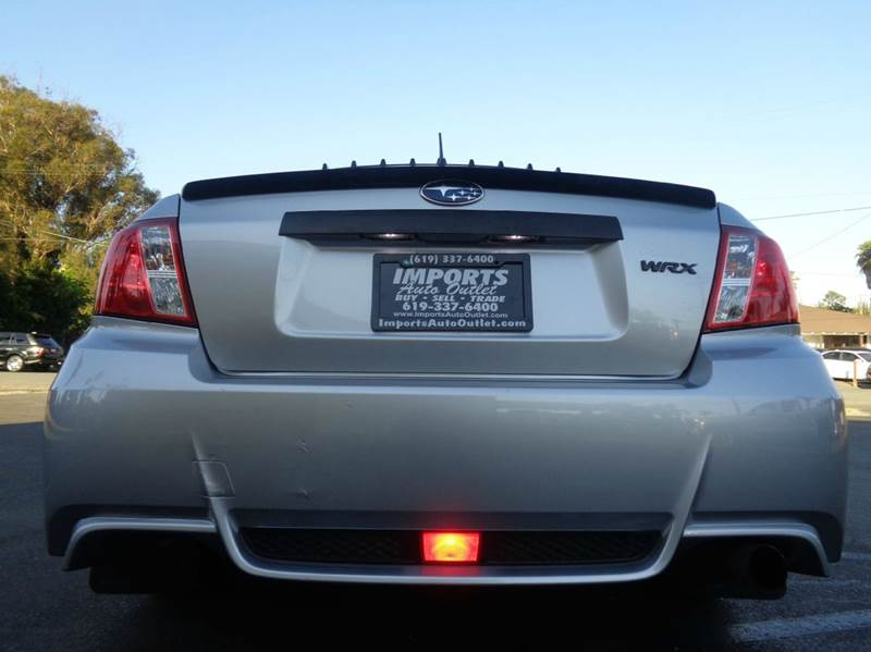 2012 Subaru Impreza WRX AWD 4dr Sedan - Spring Valley CA