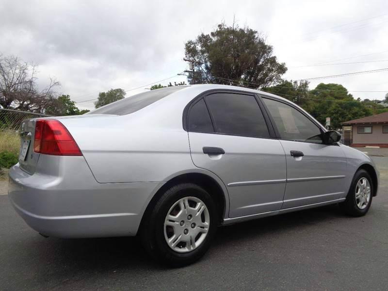 2001 Honda Civic LX 4dr Sedan - Spring Valley CA