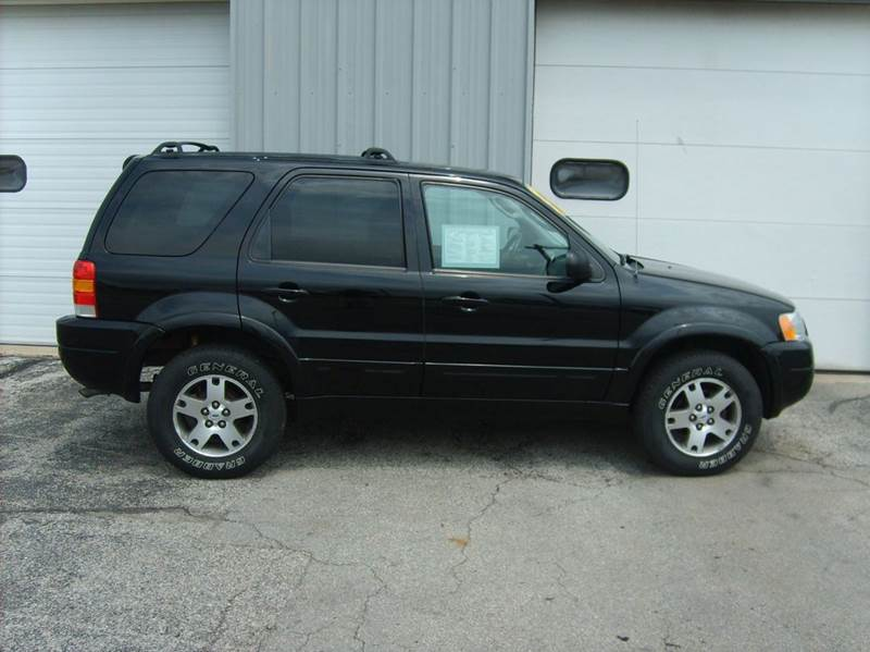 2004 ford escape limited 4wd 4dr suv in manitowoc wi terp brothers automotive inc. Black Bedroom Furniture Sets. Home Design Ideas