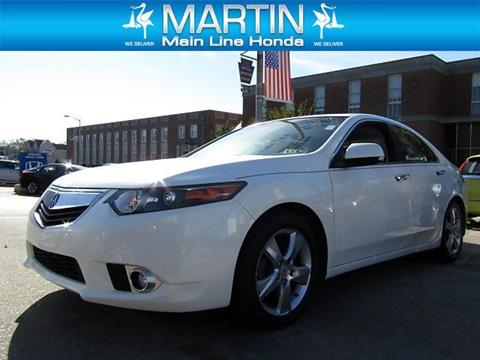 2011 Acura TSX for sale in Ardmore PA