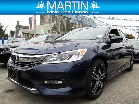 2016 Honda Accord for sale in Ardmore PA