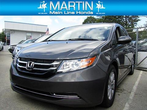 2016 Honda Odyssey for sale in Ardmore PA