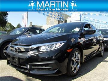 2016 Honda Civic for sale in Ardmore PA