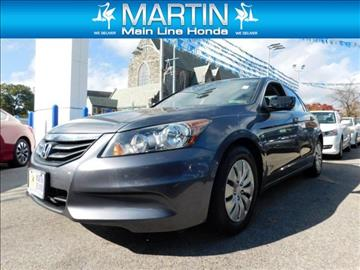 2011 Honda Accord for sale in Ardmore, PA