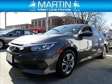 2016 Honda Civic for sale in Ardmore, PA