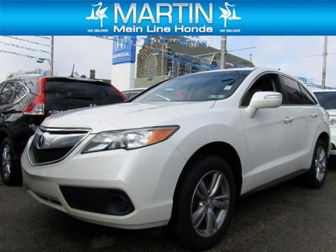 2015 acura rdx for sale in pennsylvania. Black Bedroom Furniture Sets. Home Design Ideas