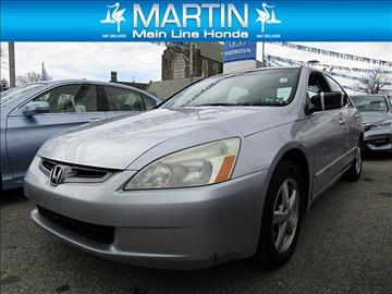 2004 Honda Accord for sale in Ardmore, PA