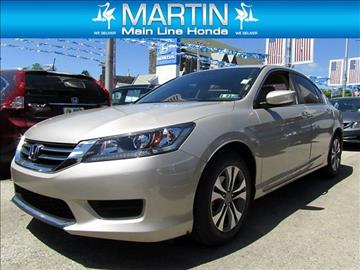 2015 Honda Accord for sale in Ardmore, PA