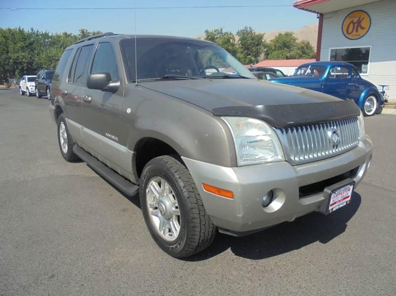 2002 Mercury Mountaineer AWD 4dr SUV - Clarkston WA
