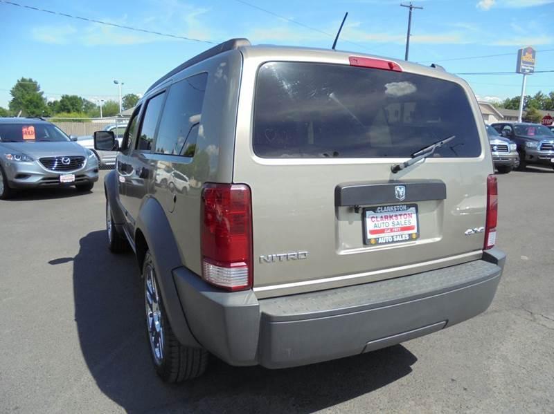 2007 Dodge Nitro 4WD SXT 4dr SUV - Clarkston WA