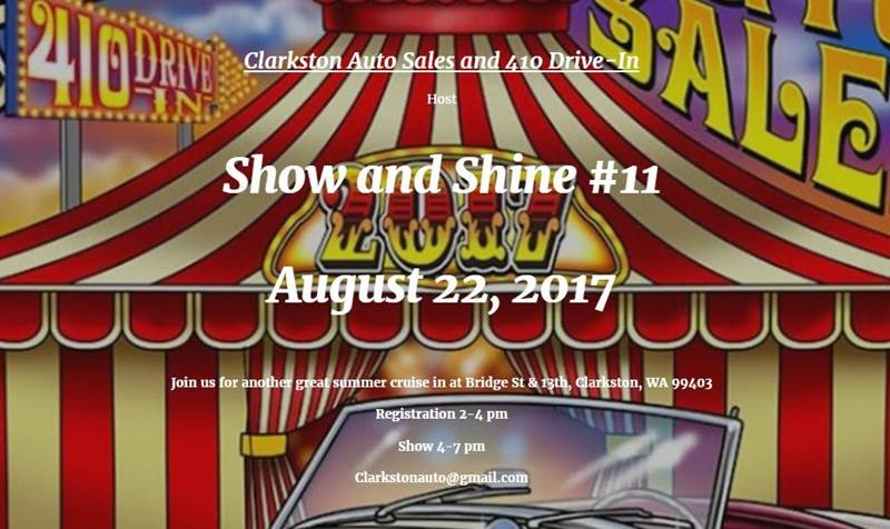 -1 Annual Event Show and Shine #11  - Clarkston WA