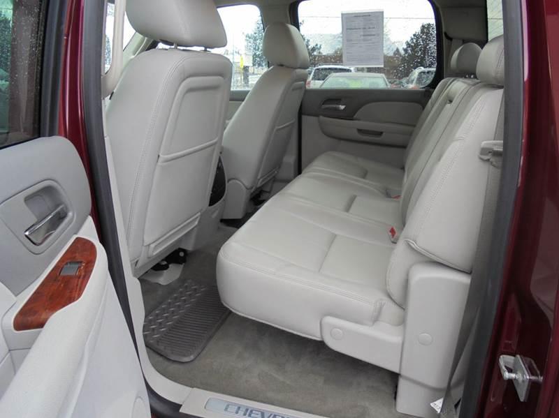 2013 Chevrolet Silverado 1500 4x4 LTZ 4dr Crew Cab 5.8 ft. SB - Clarkston WA