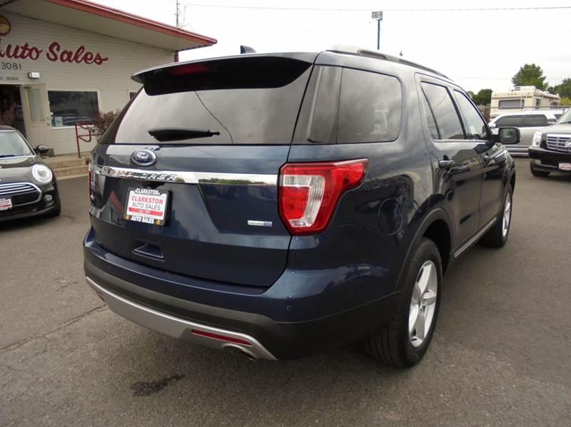 2016 Ford Explorer AWD XLT 4dr SUV - Clarkston WA