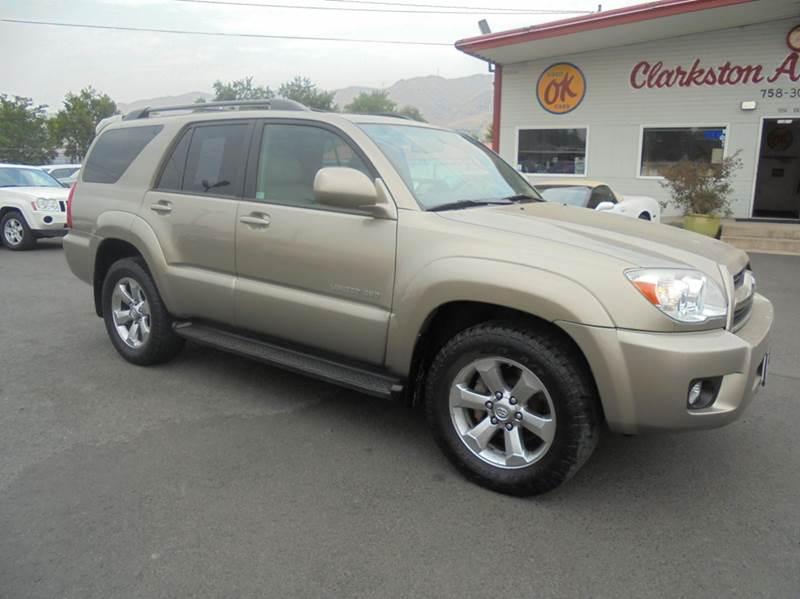 2007 Toyota 4Runner Limited 4dr SUV 4WD V6 - Clarkston WA