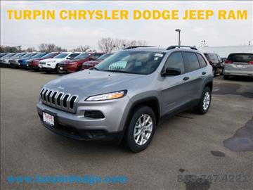 2017 Jeep Cherokee for sale in Dubuque, IA
